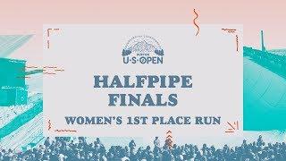 2018 Burton U·S·Open Women's Halfpipe Finals – Chloe Kim's Winning Run