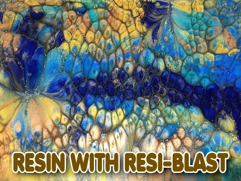 ( 991 ) Resin with resi-blast