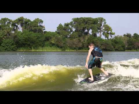 Drew Danielo Wake Surfing 2012