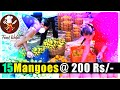 Fresh and Delicious Mangoe's in my Village - 15 Fruits @ 200 Rs/- Food Wala