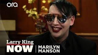 Marilyn Manson on Alice Cooper, Blame for School Shootings & Kanye West vs Jay-Z [Full Interview]