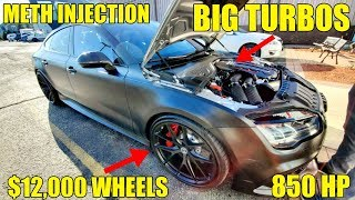 TOTAL AUCTION STEAL! 850 HP APR Built Audi RS7 Hiding $30,000 In Mods! We Tested 0-60 MPH!
