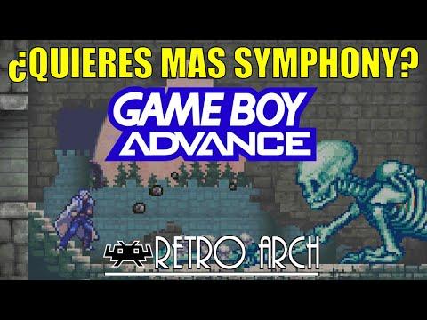 Asi se emula la Gameboy Advance - Castlevania Aria of Sorrow - Gameplay - Retroarch