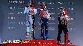 Stunning DEAD HEAT denies Shiffrin by .01 in giant slalom | NBC Sports