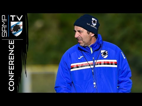 Sampdoria-Pescara: la conferenza stampa di Giampaolo
