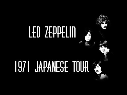 LED ZEPPELIN 1971 Japan tour with rare photos