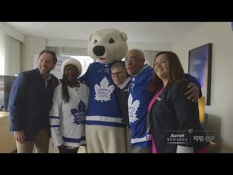 Video: Marriott International Announces Partnership with Maple Leaf Sports and Entertainment in Canada