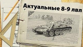 Актуальные танки 8-9 лвл - апрель 2014