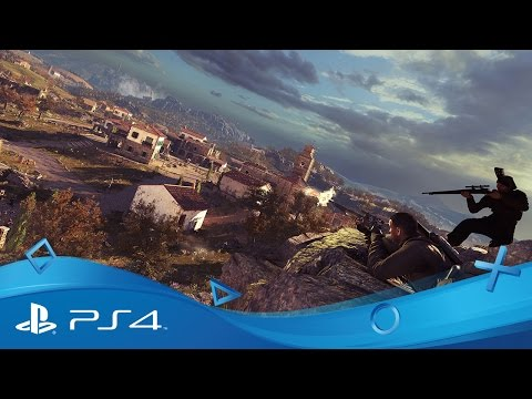 Sniper Elite 4 | 101 Gameplay-trailer | PS4
