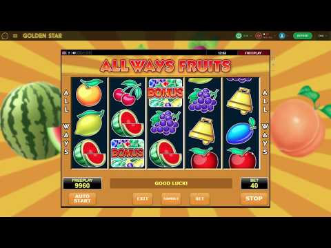 All Ways Fruits slot game