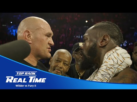 Binge Every Episode of Top Rank Real Time from Deontay Wilder vs Tyson Fury 2 | TOP RANK REAL TIME