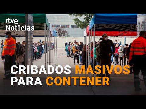 ESPAÑA intenta ESTABILIZAR la CURVA CRIBANDO en todas las COMUNIDADES AUTÓNOMAS | RTVE