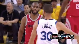 Steph Curry Exposes Chris Paul's Overrated Defense - 2018 NBA WCF