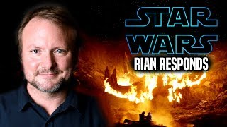 Star Wars! Rian Johnson Responds To NEW Trilogy & More (Star Wars News)