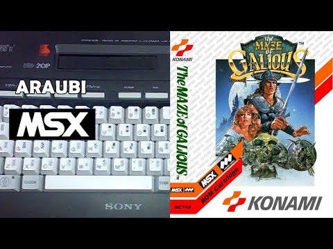 The Maze of Galious (Konami, 1987) MSX [041] Walkthrough Comentado