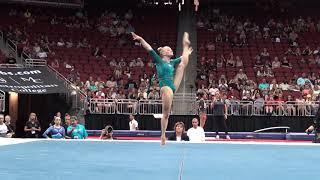 Riley McCusker – Floor Exercise – 2019 GK U.S. Classic – Senior Competition