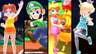 Mario Sports Superstars ALL EVENTS - Soccer, Baseball, Tennis, Golf & Horse Racing (3DS)