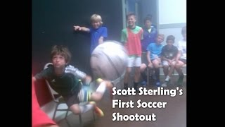 Scott Sterling's First Soccer Shootout as a 10-Year-Old