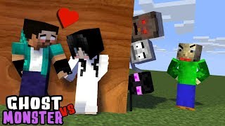 MONSTER SCHOOL : GHOST VS MONSTERS - BEST FUNNY MINECRAFT ANIMATION