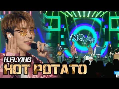 [HOT] N.FLYING - Hot Potato, 엔플라잉 - 뜨거운 감자 Show Music core 20180120