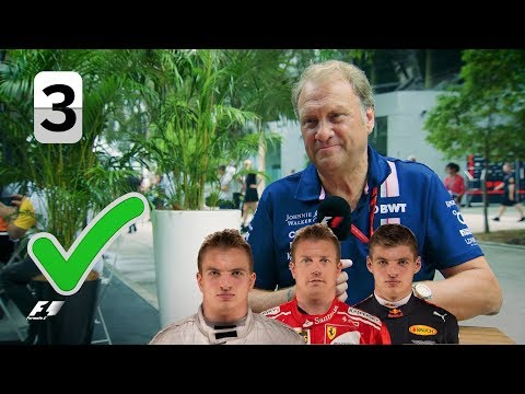 Force India's Bob Fernley | Grill The Grid Team Bosses