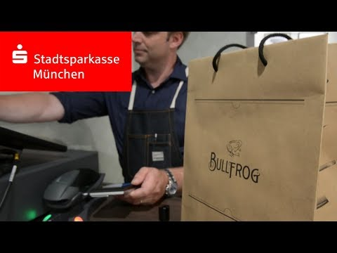 Der Bullfrog Barbershop in München