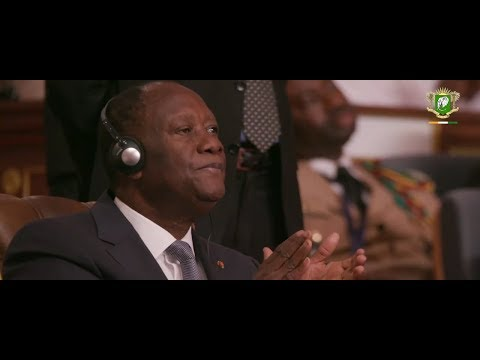 Le President OUATTARA a pris part a l'investiture du President Mohamed Ould Cheikh El GHAZOUANI
