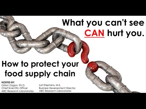 How to protect your food supply chain. ABC Research Laboratories Webinar Event