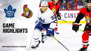 09/18/19 Condensed Game: Maple Leafs @ Senators