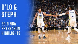 D'Angelo Russell Is Built For The Splash Bro Culture   Highlights From Warriors Preseason