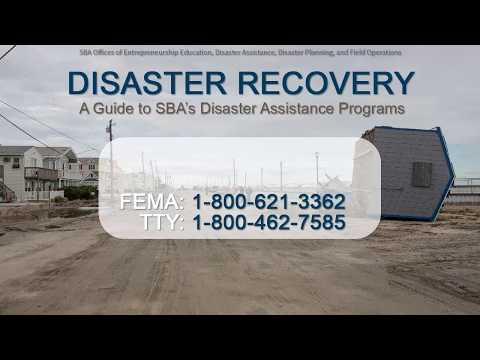 A Guide to SBA's Disaster Assistance Program
