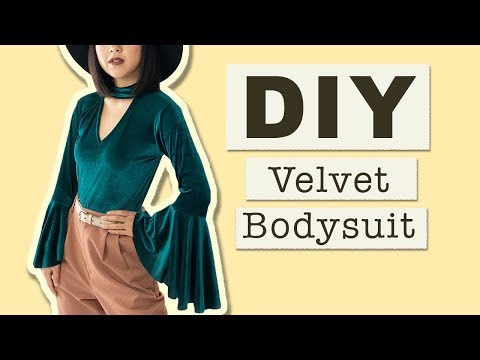 DIY Cut-Out Bodysuit | Made From Scratch