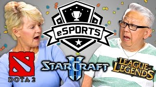 ELDERS REACT TO ESPORTS