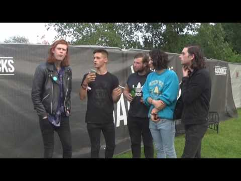 The Amazons | IOW 2016 Interview