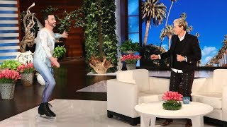 Jimmy Kimmel, Jamie Foxx, and Chance the Rapper Surprise Ellen During Her Star-Studded Birthday Show