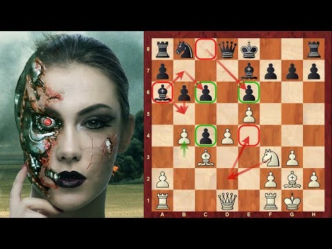 Outrageous Chess AI: (Game 8) : Deepmind's AlphaZero: Positional torture which persists into endgame