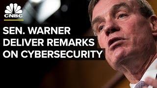 Senator Warner Delivers Address on Cybersecurity Policy - Dec. 7, 2018