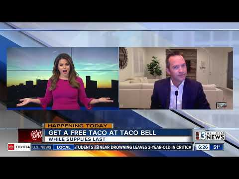 Free tacos at Taco Bell for taco Tuesday
