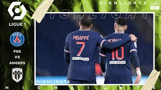 PSG 6 - 1 Angers - HIGHLIGHTS & GOALS - (10/2/2020)