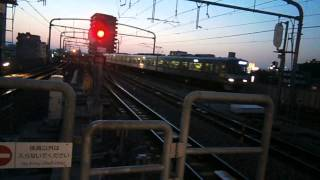 名鉄鳴海駅急行吉良吉田行き到着