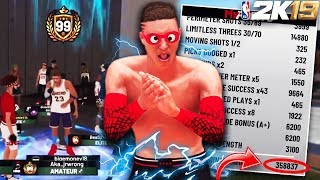 NBA 2K19 *NEW* FASTEST WAY TO 99 OVERALL!! 300K XP PER HOUR! (How to Rep Up Fast)