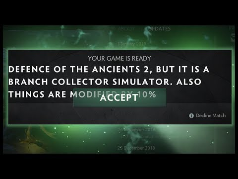 Dota 2 but It's a Branch Collector Simulator
