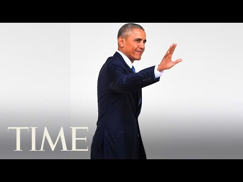 Barack Obama's Final Farewell After Donald Trump's Inauguration   TIME