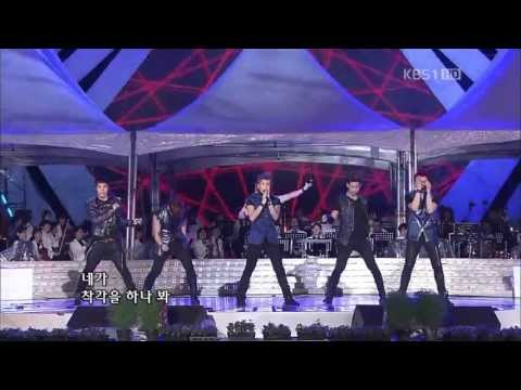 [HD] 2PM - Hands Up + I'll Be Back  [KBS Open Concert 110918]