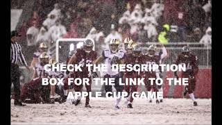 2018 Apple Cup | #16 Washington at #8 Washington State