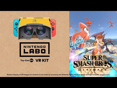 Nintendo Labo: VR Kit + Super Smash Bros. UItimate