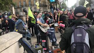 Cam Cole - Mama and You Know (Live at Extiction Rebellion protest in London)