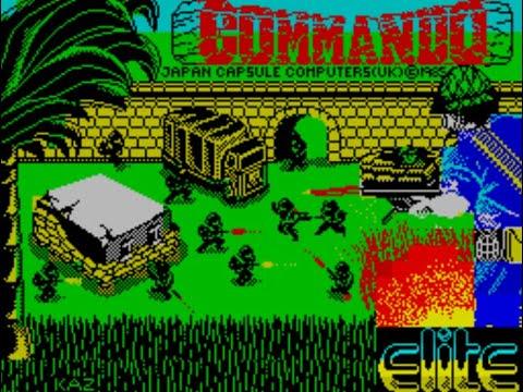 Commando (ZX Spectrum) - Review de RETROJuegos por Fabio Didone