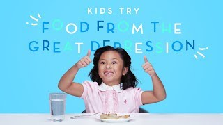 Kids Try Food from the Great Depression   Kids Try   HiHo Kids