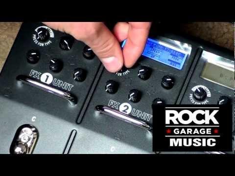Line 6 M13 Pedal Video #2 - Tremolo, Phaser & Chorus Pedals